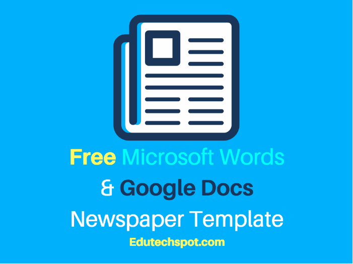 25 free google docs newspaper and newsletter template for classroom 25 free google docs newspaper and newsletter template for classroom and school edutechspot saigontimesfo